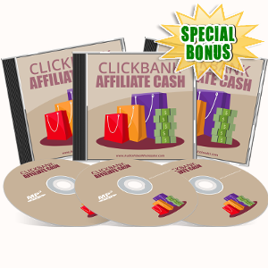 Special Bonuses - June 2017 - ClickBank Affiliate Cash Audio Pack