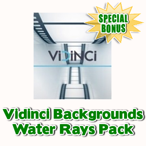 Special Bonuses - June 2017 - Vidinci Backgrounds - Water Rays Pack