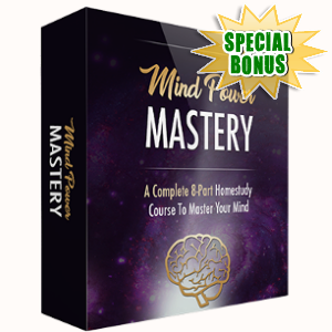 Special Bonuses - July 2017 - Mind Power Mastery