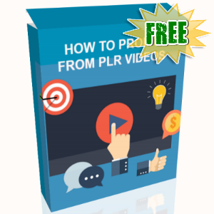 FREE Weekly Gifts - August 7, 2017 - How To Profit From PLR Videos Video Series