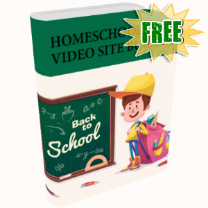 FREE Weekly Gifts - August 7, 2017 - Home Schooling Video Site Builder Software