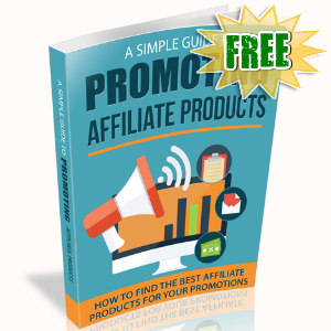 FREE Weekly Gifts - August 21, 2017 - A Simple Guide To Promoting Affiliate Products
