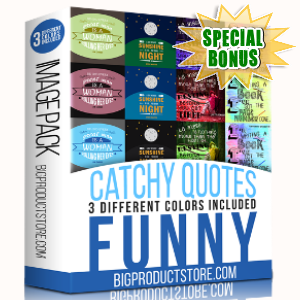 Special Bonuses - August 2017 - Catchy Viral Quotes - Funny
