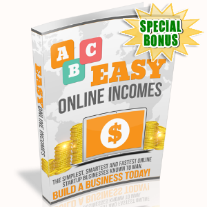 Special Bonuses - August 2017 - ABC Easy Online Incomes
