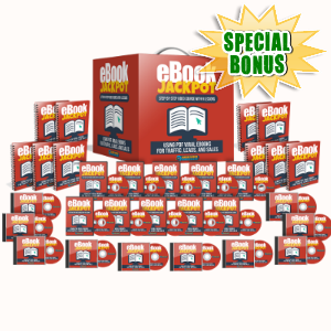 Special Bonuses - August 2017 - Ebook Jackpot Video Course