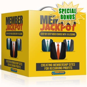 Special Bonuses - September 2017 - Member Jackpot Video Series Pack