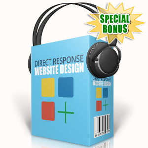 Special Bonuses - September 2017 - Direct Response Website Design Audio Pack