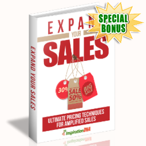 Special Bonuses - September 2017 - Expand Your Sales