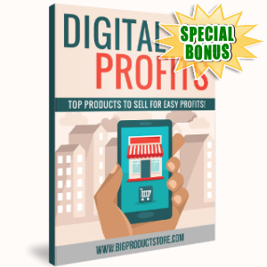 Special Bonuses - September 2017 - Digital Profits