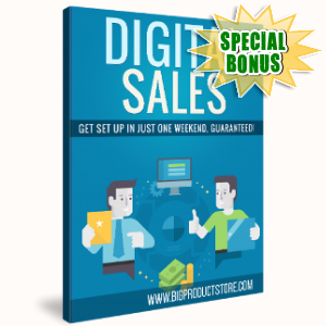 Special Bonuses - September 2017 - Digital Sales