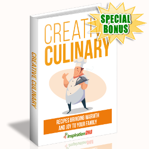 Special Bonuses - September 2017 - Creative Culinary