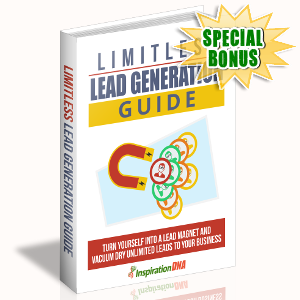 Special Bonuses - October 2017 - Limitless Lead Generation Guide