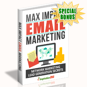 Special Bonuses - October 2017 - Max Impact Email Marketing