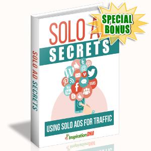 Special Bonuses - October 2017 - Solo Ad Secrets