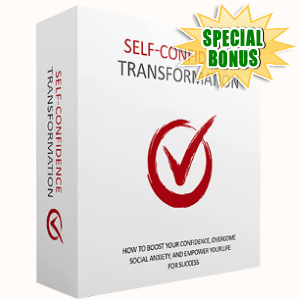 Special Bonuses - October 2017 - Self-Confidence Transformation Pack