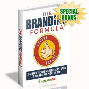 Special Bonuses - October 2017 - The Branding Formula