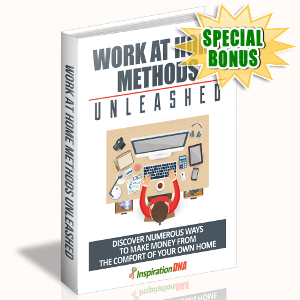 Special Bonuses - October 2017 - Work At Home Methods Unleashed