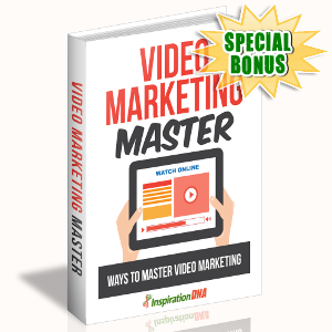 Special Bonuses - October 2017 - Video Marketing Master
