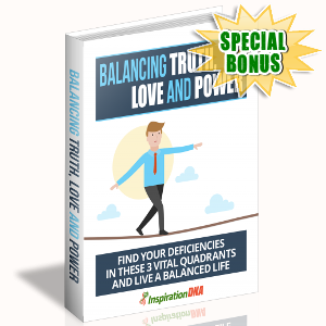 Special Bonuses - November 2017 - Balancing Truth, Love And Power
