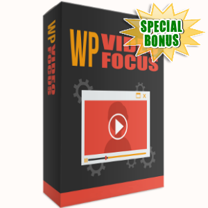 Special Bonuses - November 2017 - WP Video Focus WordPress Plugin