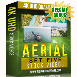 Special Bonuses - November 2017 - Aerial 4K UHD Stock Videos Part 5 Pack