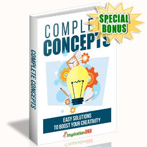 Special Bonuses - November 2017 - Complete Concepts