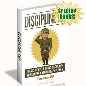 Special Bonuses - November 2017 - Discipline 101