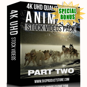 Special Bonuses - November 2017 - Animals 4K UHD Stock Videos Part 2 Pack