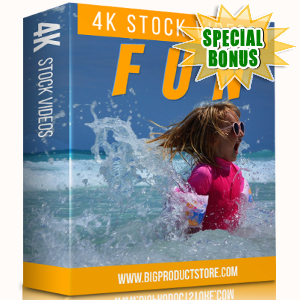 Special Bonuses - November 2017 - Fun 4K Stock Videos Pack
