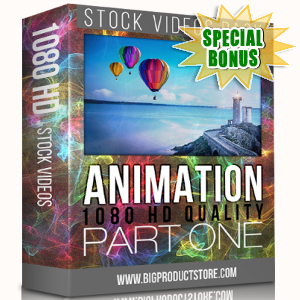 Special Bonuses - November 2017 - Animation 1080 HD Stock Videos Part 1 Pack