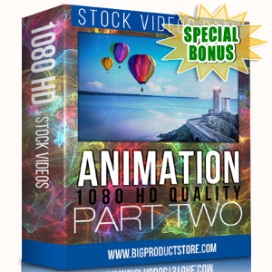 Special Bonuses - November 2017 - Animation 1080 HD Stock Videos Part 2 Pack
