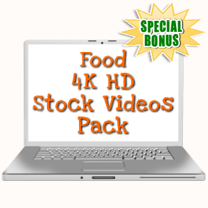 Special Bonuses - November 2017 - Food 4K HD Stock Videos Pack