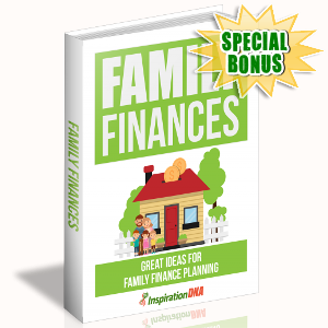 Special Bonuses - November 2017 - Family Finances