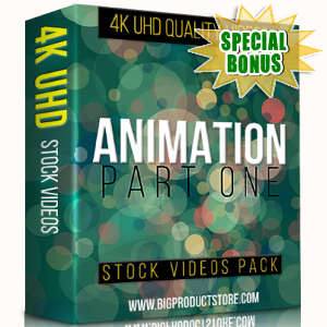 Special Bonuses - November 2017 - Animation 4K UHD Stock Videos Part 1 Pack