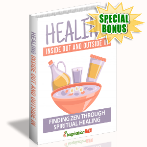 Special Bonuses - November 2017 - Healing Inside Out And Outside In