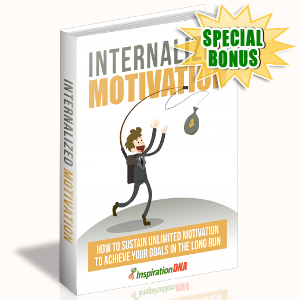 Special Bonuses - November 2017 - Internalized Motivation