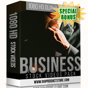 Special Bonuses - November 2017 - Business 1080 HD Stock Videos Pack