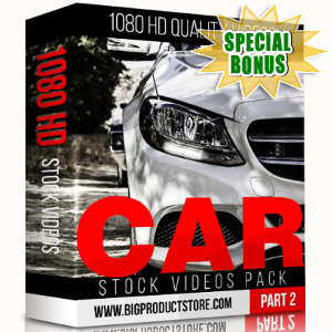 Special Bonuses - November 2017 - Car 1080 HD Stock Videos Part 2 Pack