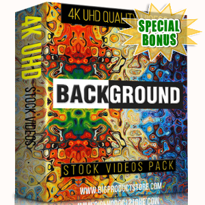 Special Bonuses - November 2017 - Background 4K Stock Videos Pack