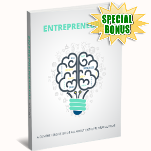Special Bonuses - November 2017 - Entrepreneurial Ideas