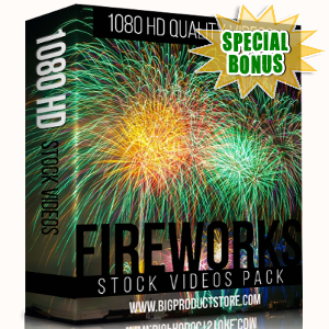 Special Bonuses - November 2017 - Fireworks 1080 HD Stock Videos Pack