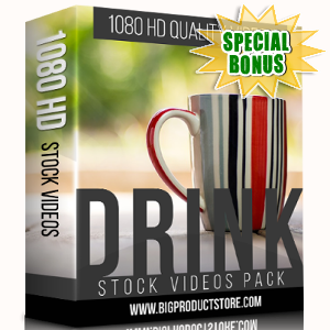 Special Bonuses - November 2017 - Drink 1080 HD Stock Videos Pack