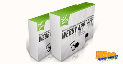 WebbyApp Review and Bonuses