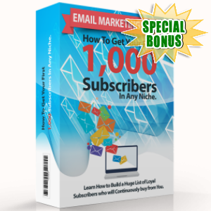 Special Bonuses - December 2017 - Email Marketing Expert Pack