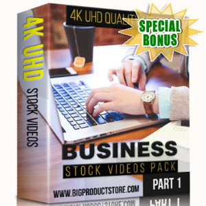Special Bonuses - December 2017 - Business 4K UHD Stock Videos Part 1 Pack