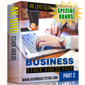 Special Bonuses - December 2017 - Business 4K UHD Stock Videos Part 2 Pack