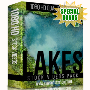 Special Bonuses - December 2017 - Lakes 1080 HD Stock videos Pack