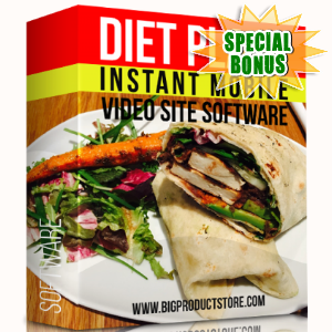 Special Bonuses - December 2017 - Diet Plans Instant Mobile Video Site Software