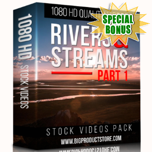Special Bonuses - December 2017 - Rivers & Streams 1080 HD Stock videos Part 1 Pack