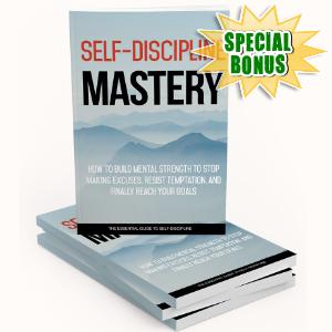 Special Bonuses - December 2017 - Self Discipline Mastery